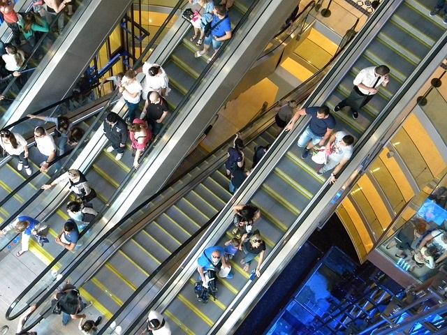 centre commercial à Marseille